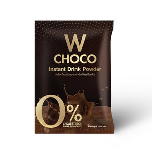 W Choco Instant Powder Drink, 5 boxes
