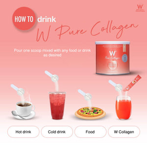 W Pure Collagen 50,000mg + FREE W Pure Collagen