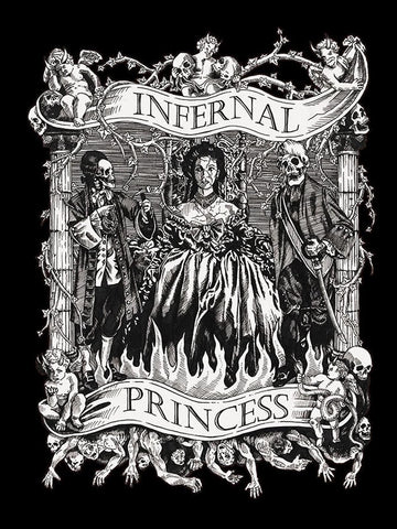 The Infernal Princess (B&W)
