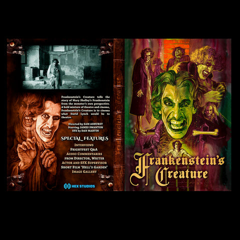 Frankenstein's Creature Exclusive Limited Edition DVD (OUT OF STOCK)