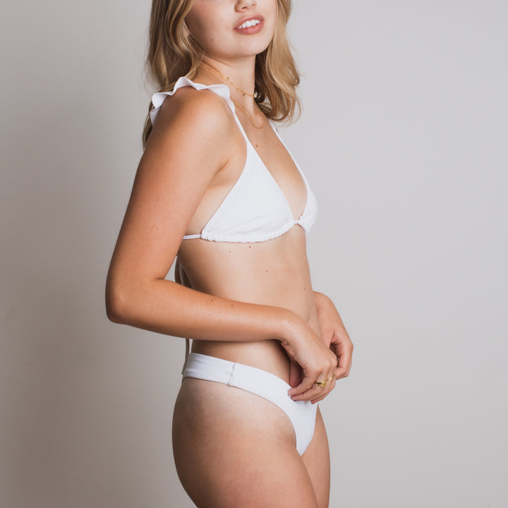 Zoe Bottom in White