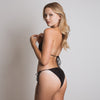 Amelia Triangle Bikini Bottom in Black