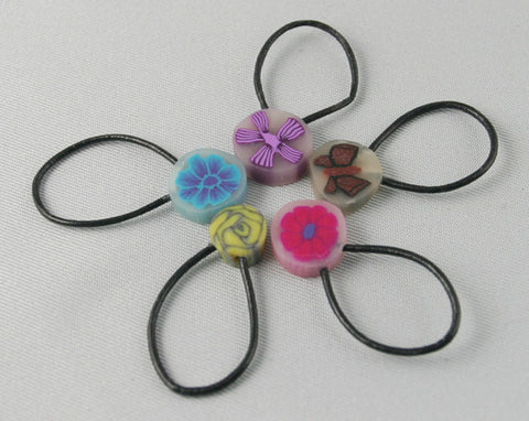 Floral Stitch Markers