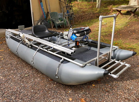 Northwoods Inflatables 2 man, 12' Pontoon Raft