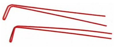 Red Wire Weed Guards
