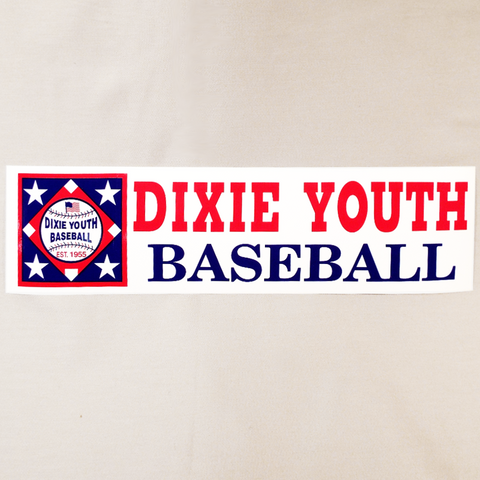 03Y - Dixie Youth Bumper Sticker