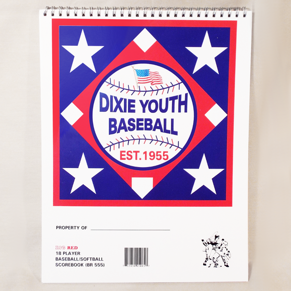 11Y - Dixie Youth Scorebook