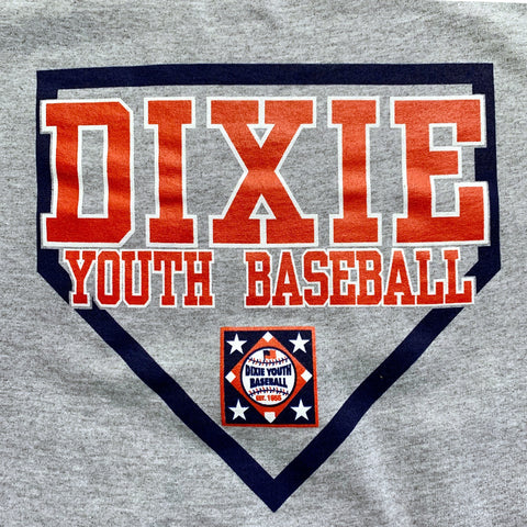 23Y - Dixie Youth Home Plate T-Shirt (Youth & Adult Sizes)