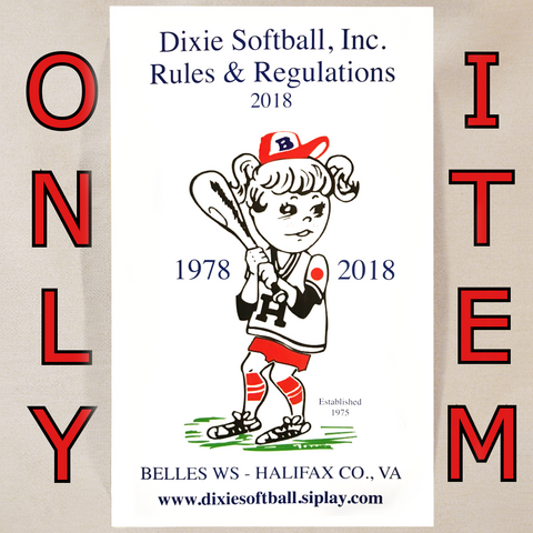 25S - ONE 2018 DSI Rule Book