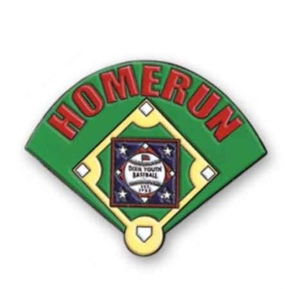 32Y-HR - Home Run Pin