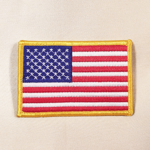 82S - USA Flag Patch