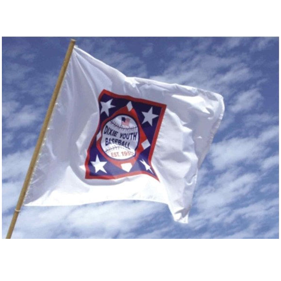 21Y - Dixie Youth Logo Flag 6' x 4'