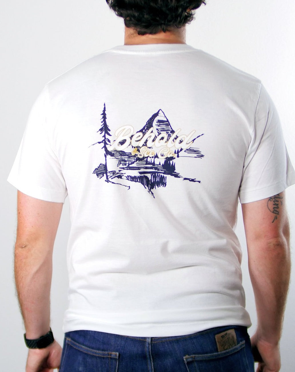 The Journey Tee White