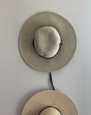 """Field Hat"" with Leather Strap"