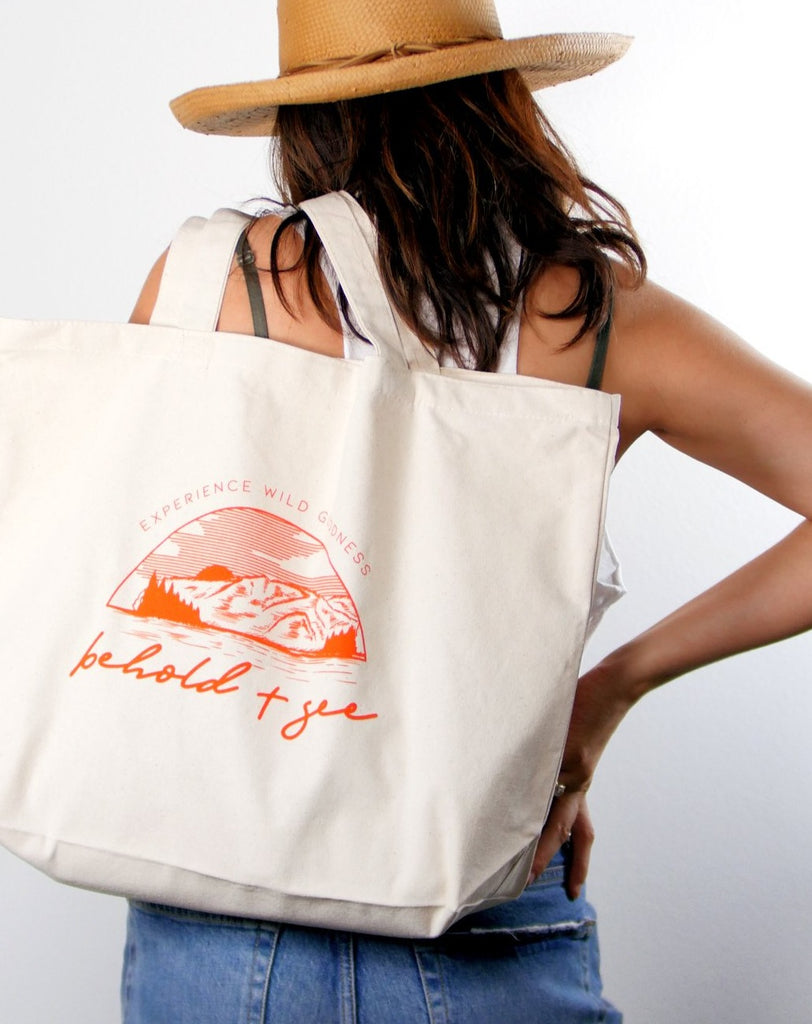 Wild Goodness Canvas Tote Bag