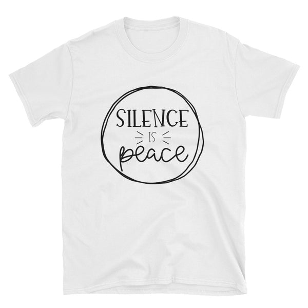 """Silence in Peace"" Short-Sleeve Unisex T-Shirt"