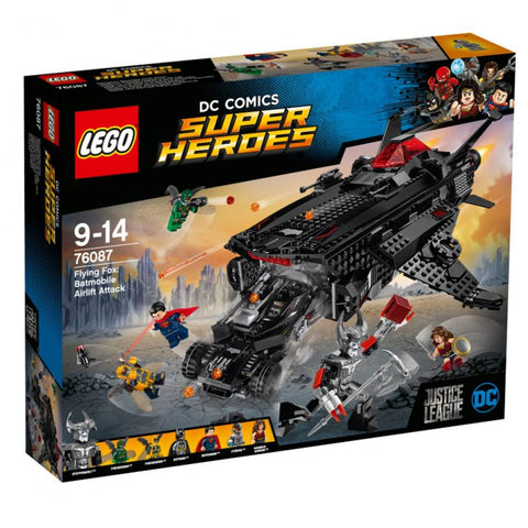 Flying Fox: Batmobile Luchtbrugaanval Lego Super Heroes 76087