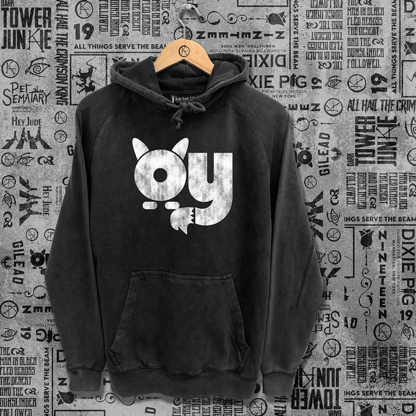 Oy Washed Unisex Hoodie