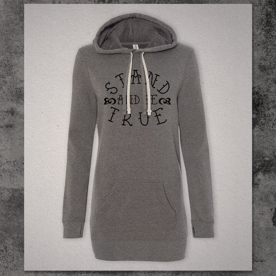 Stand and Be True Hooded Dress