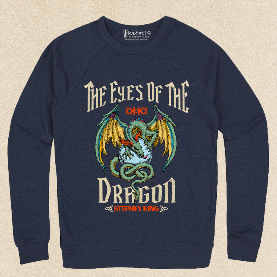 Eyes of the Dragon Unisex Raglan lightweight sweatshirt