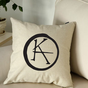 "KA Symbol Throw Pillow 18""X18"""