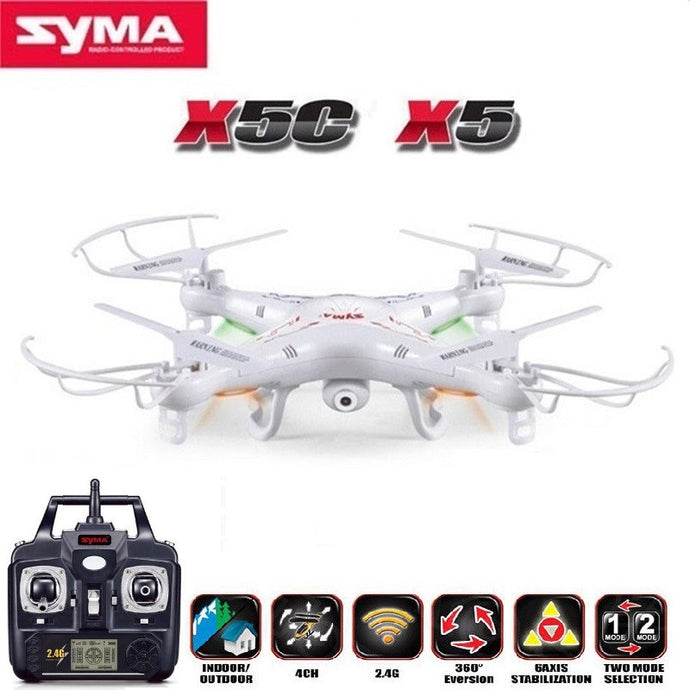 SYMA X5C (Upgrade Version) RC Drone 6-Axis Remote Control With  HD Camera