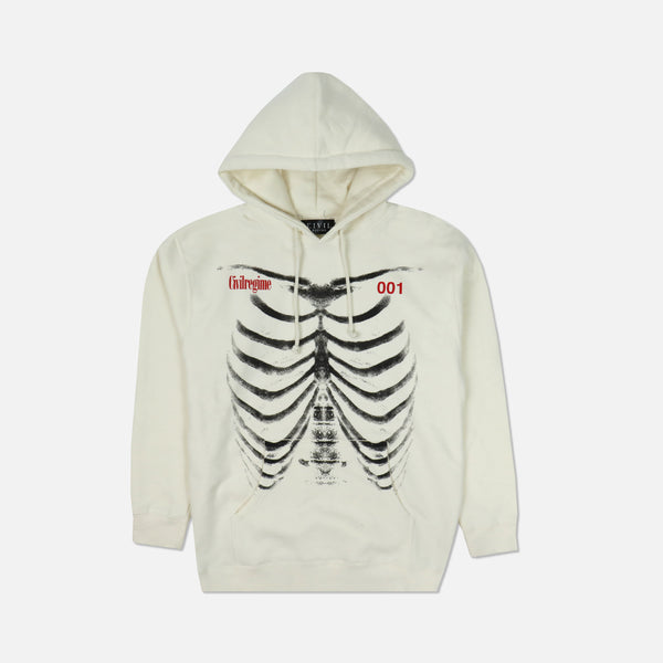 (S.I.N.) Bones Hoodie in Light Bone