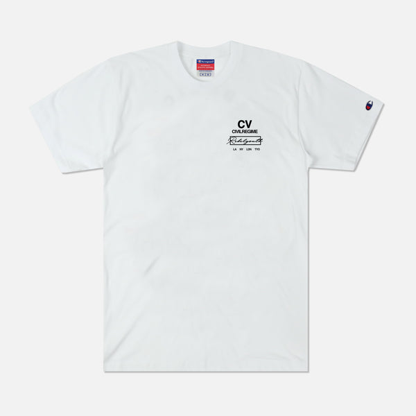 CV Youth Champion Tee in White