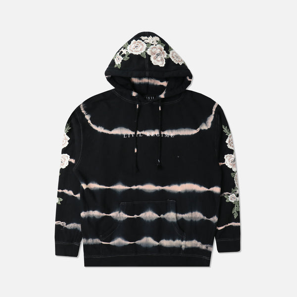 Blanco Roses Hoodie in Heartbeat Wash (RELEASING 8/16/20)