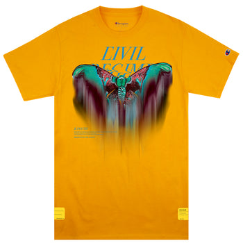Meta Effect Champion Tee in Yellow