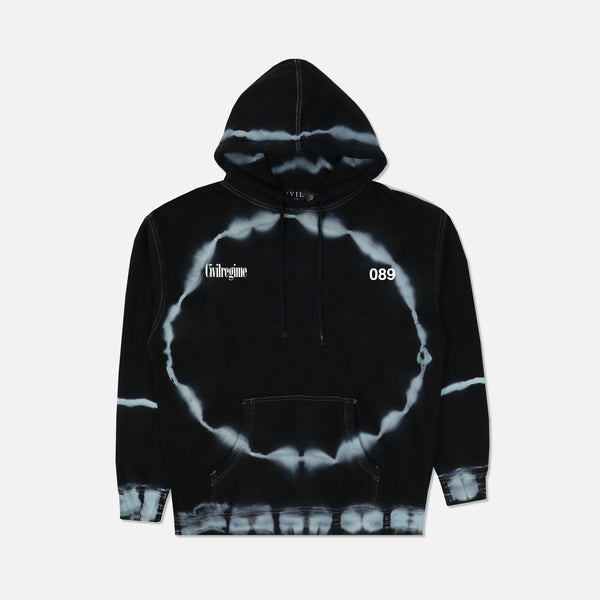 (S.I.N.) Meta Fade Hoodie in Dark Moon Wash