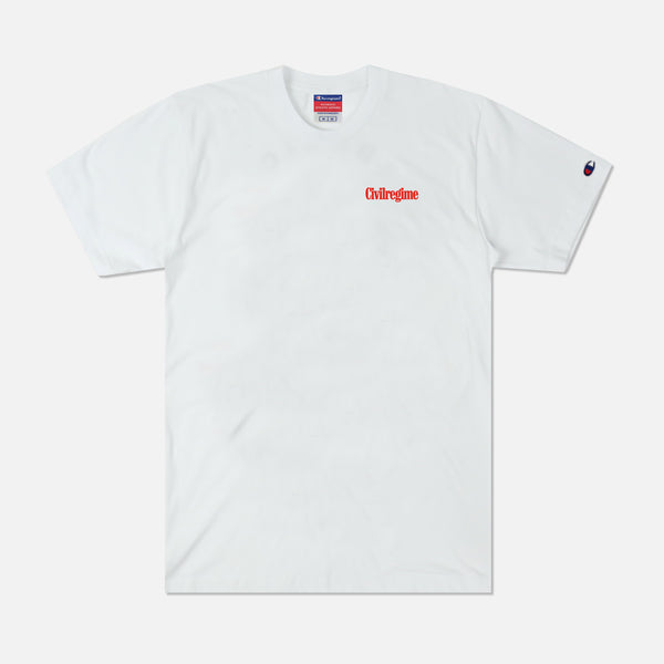 Paradise City Champion Tee in White