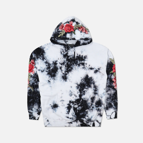 Red Roses Hoodie in Marble (Releasing 8/16/20)