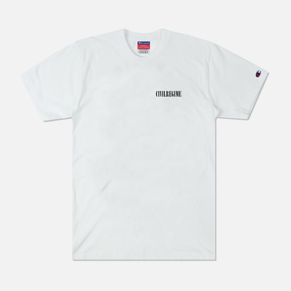 R Sins Champion Tee in White