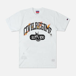 R.Y.U. Champion Tee in White