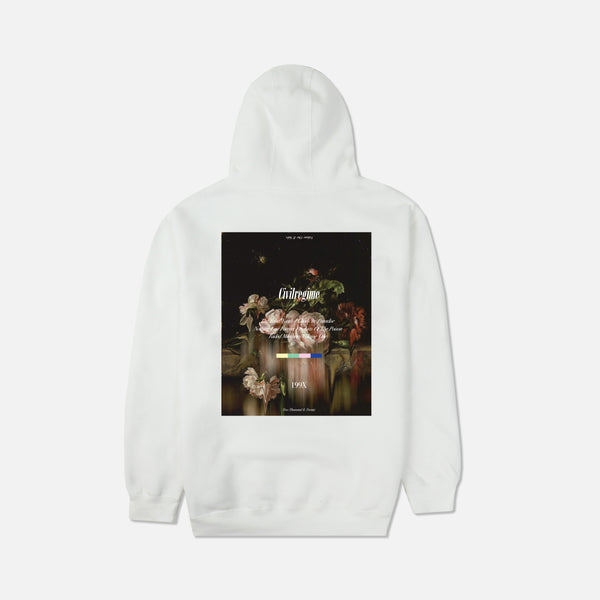 Volume One Champion Hoodie in White