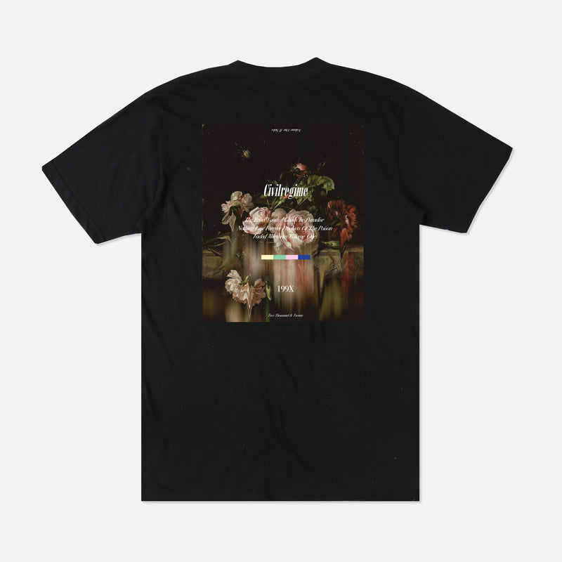 Volume One Champion Tee in Black