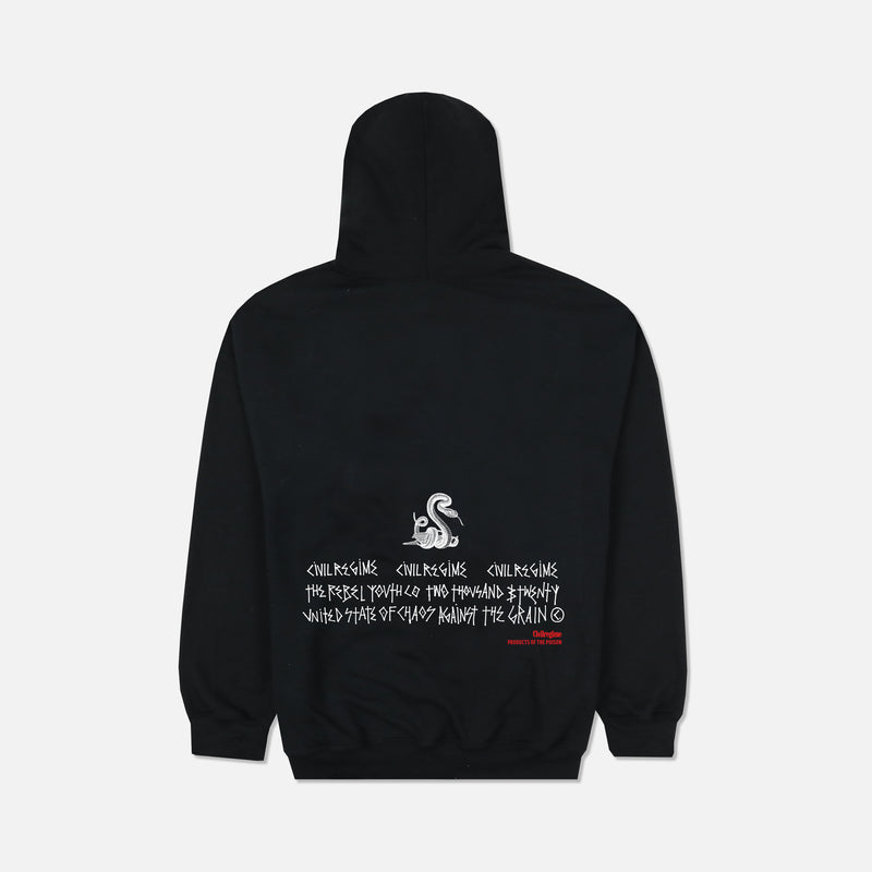 Vows Champion Hoodie in Black
