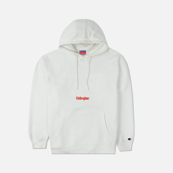 Vows Champion Hoodie in White
