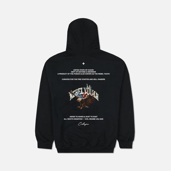 Youth Rights Champion Hoodie in Black