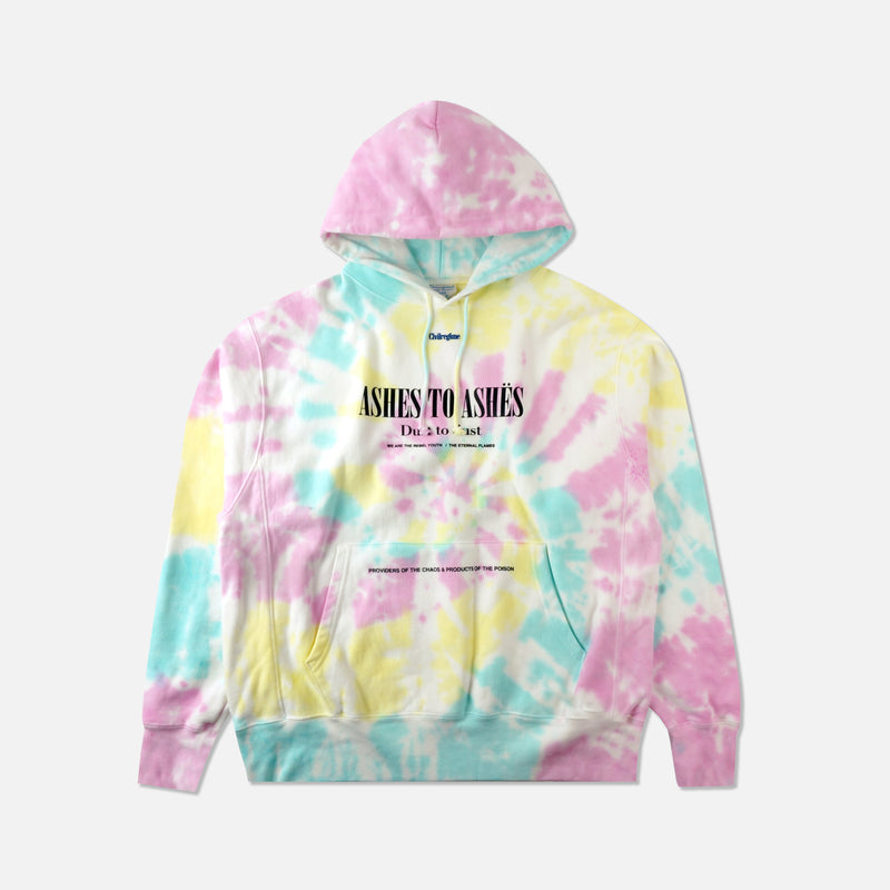 Ashes To Ashes Hoodie in Pastel Spiral