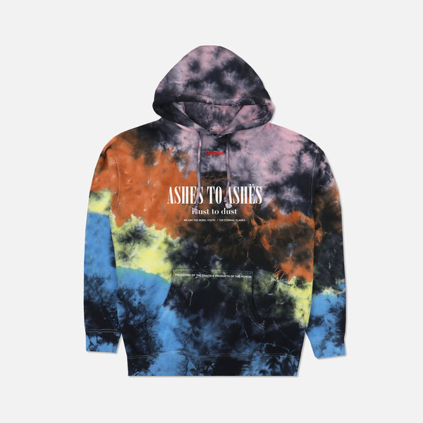 Ashes To Ashes Hoodie in Liquid