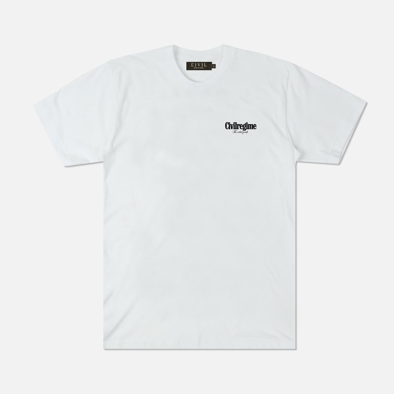 Bloom Forever Tee in White