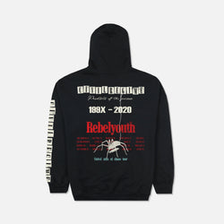 Chaos Tour Hoodie in Black