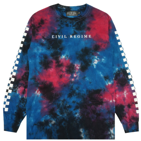 Checkers LS Tee in Galaxy