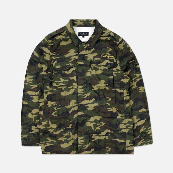 Wild Ones Fatigue Jacket in Camo