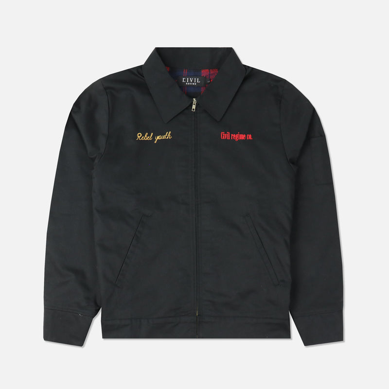 Civil Gas Co. Jacket in Black