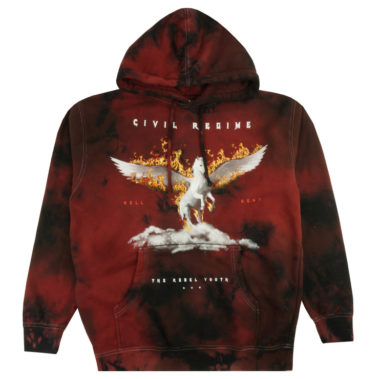 Burning Gates Hoodie in Lava