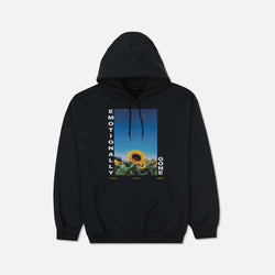 Emotionally Gone Hoodie in Black