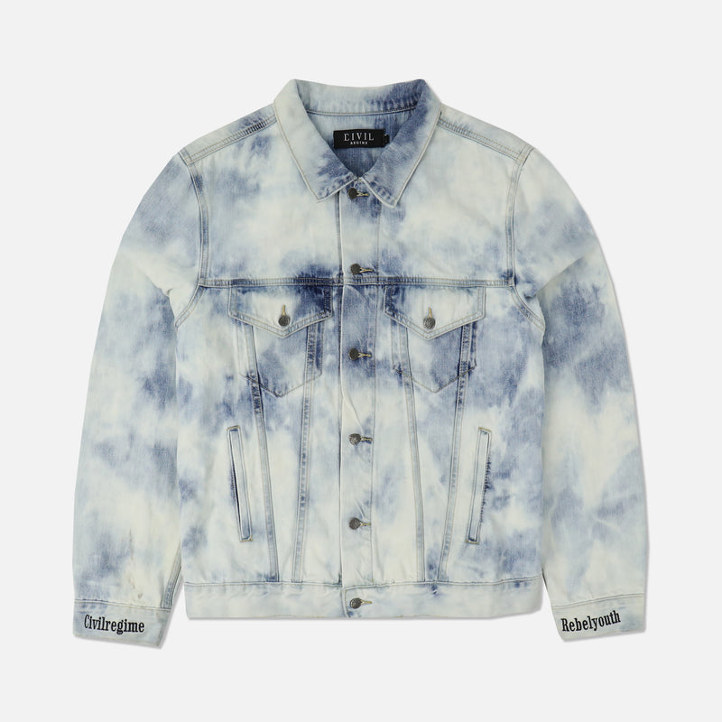 Our Youth Denim Jacket in Chaos Wash